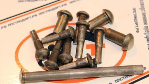заклепки ГОСТ 10299-80 стальные