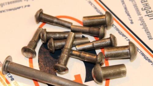 заклепки ГОСТ 10299-80 стальные купить